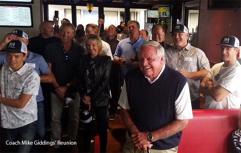 Coach Mike Giddings' Reunion