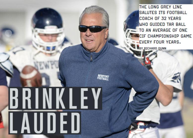 Brinkley Lauded
